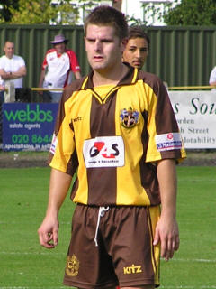 Paul Honey in the New Home Shirt